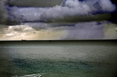 Photograph - A Distant Rain by Yuri Lev