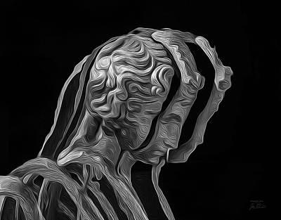 A Divided Mind Art Print