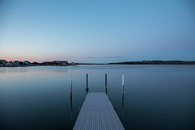 Photograph - A Dock On Cold Spring by Steve Gravano