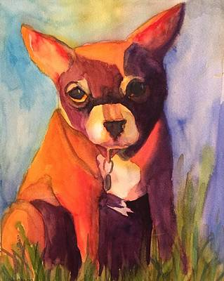 Painting - A Dog Kind Of Day by Kerrie Hubbard