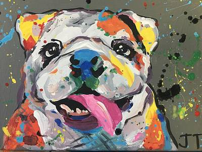 Easterseals Painting - A Dog's Life by Joanne T