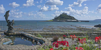 Photograph - A Dolphins View Of St Michael's Mount by Terri Waters