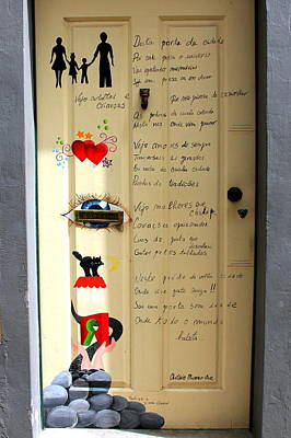 Photograph - A Door About Family by Laurel Talabere
