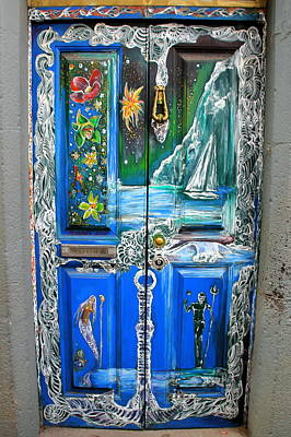 Photograph - A Door Graced By Fantasy by Laurel Talabere