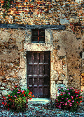 Photograph - A Door In France by Tom Prendergast