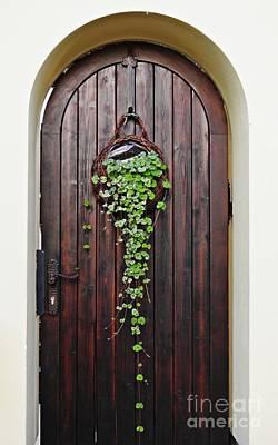 Photograph - A Door In Schierstein by Sarah Loft