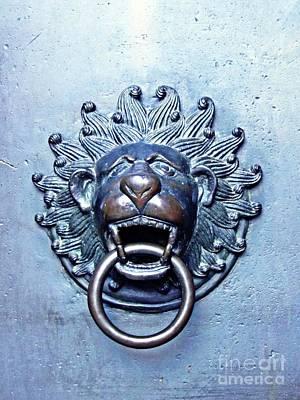 Photograph - A Door Knocker In Mainz by Sarah Loft