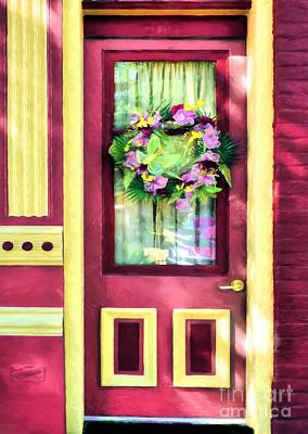 Photograph - A Door Of Many Colors # 4 by Mel Steinhauer