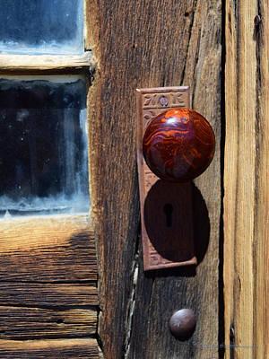 A Door To The Past Art Print