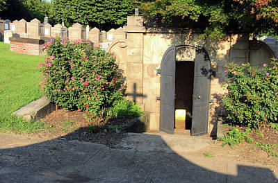 Dolley Photograph - A Door To Where Presidents And A First Lady Rested In Peace At Congressional Cemetery by Cora Wandel