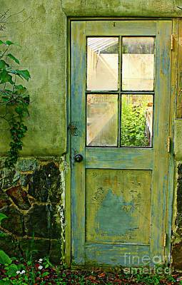 Photograph - A Door With Patina  by Marcia Lee Jones