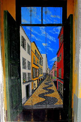 Photograph - A Door With Perspective by Laurel Talabere