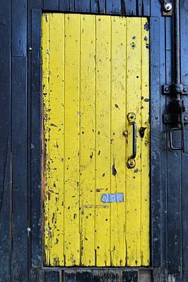 Photograph - A Door Within A Door by Cheryl Hoyle
