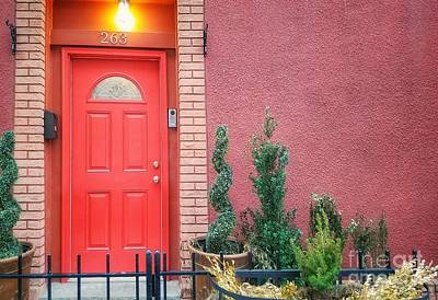 Photograph - A Doorway In Brooklyn by Mary Capriole