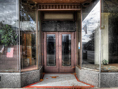 Photograph - A Doorway In Port Jervis by Geoffrey Coelho