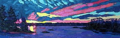 A Dozen Sunsets Original by Phil Chadwick