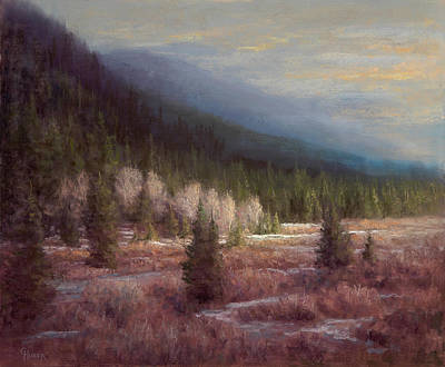 Painting - A Dramatic Flair by Gary Huber