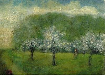 Painting - A Dream Of Apple Blossom Time by Joe Leahy