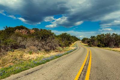 Photograph - A Drive Through Texas Hill Country by L O C