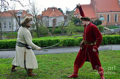A Duel Original by Elzbieta Fazel