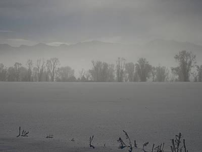 Bath Time - A Early Frosty Morn by DeeLon Merritt