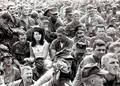 Photograph - A Face In The Crowd by Robert Holden