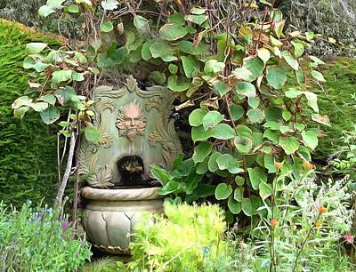 Photograph - A Face In The Garden by Floyd Snyder
