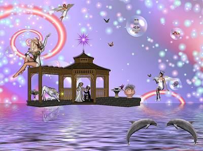 A Fairyland Proposal Art Print