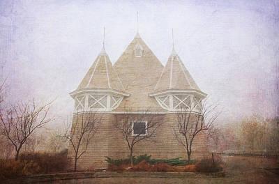 Print featuring the photograph A Fairytale Fog by Heidi Hermes