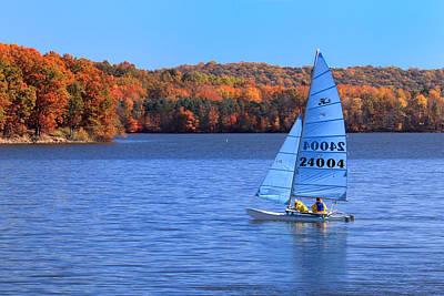 A Fall Day On Lake Arthur Original