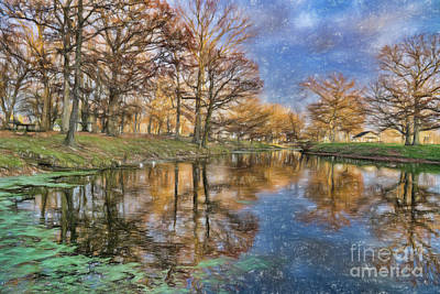 Photograph - A Fall Day by Scott Wood