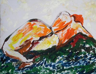 Painting - A Fallen Woman by Esther Newman-Cohen