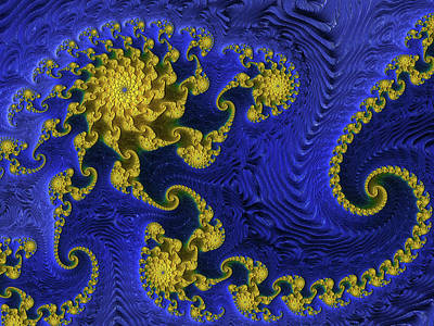Digital Art - A Falling Star by Georgiana Romanovna