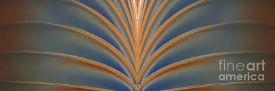 Digital Art - A Fan Of Art Deco by Wendy Wilton