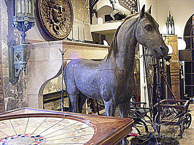 Photograph - A Fancy Stable by Nancy Kane Chapman