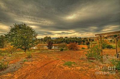 Photograph - A Farm In Bridgetown, Western Australia by Elaine Teague