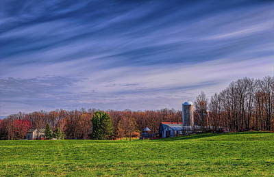Photograph - A Farmer's Backyard In Spring by Dale Kauzlaric