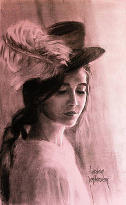 A Feather In Her Hat Original