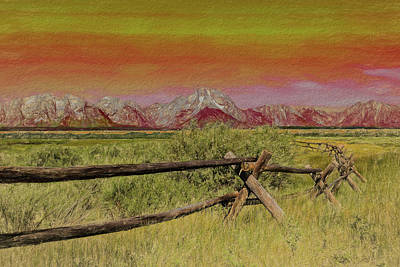 Photograph - A Fence On Mars by Kay Brewer