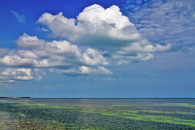 Photograph - A Few Clouds In Keywest by Bob Slitzan