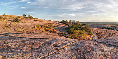 Photograph - A Few Minutes Before Sunset At Enchanted Rock State Natural Area - Fredericksburg Texas Hill Country by Silvio Ligutti