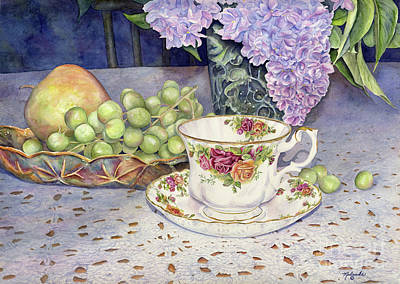 Lilac Time Painting - A Few Of My Favorite Things by Malanda Warner