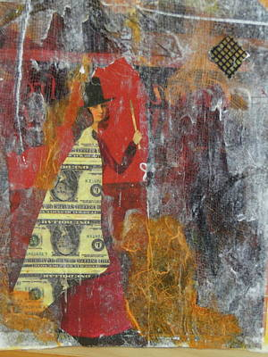 Finance Mixed Media - A Few Tricks by Gail Butters Cohen