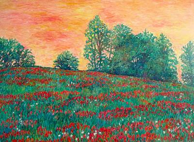 Painting - Field Of Beauty by Kendall Kessler