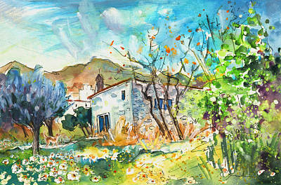 Painting - A Finca In Turre 03 by Miki De Goodaboom