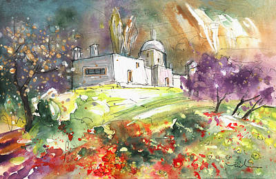 Painting - A Finca In Turre by Miki De Goodaboom