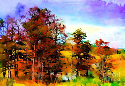 Photograph - A Fine Autumn Day by Judi Bagwell