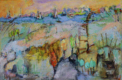 Painting - A Fine Day For Sailing by Sharon Furner