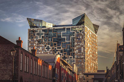 Birmingham Photograph - A Fine Morning At The Cube by Chris Fletcher