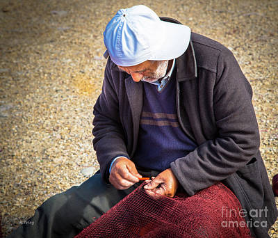 Photograph - A Fisherman's Day Never Ends by Rene Triay Photography
